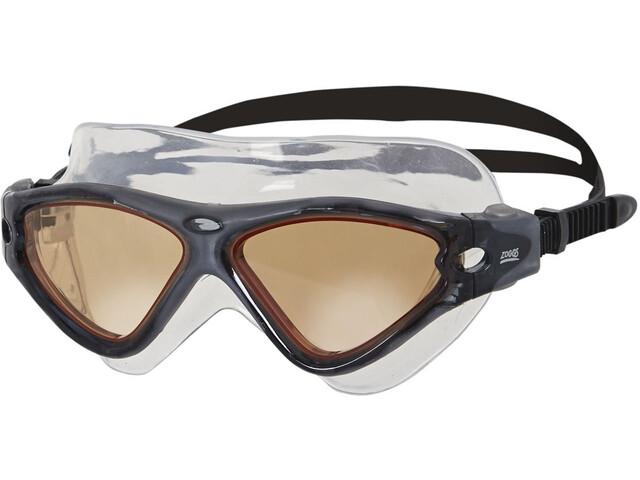 Zoggs Tri-Vision Mask Goggle, black/cv